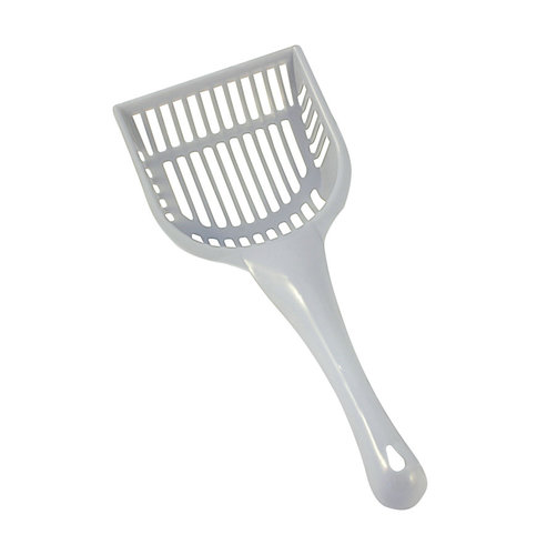 CATLITTER SCOOP ASSORTI 29x14CM blue/grey