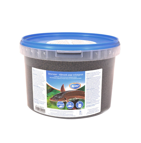STURGEON FOOD SMALL GRANULES 3MM/3L