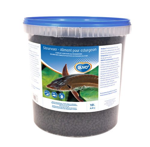 STURGEON FOOD BUCKET 6MM/10L
