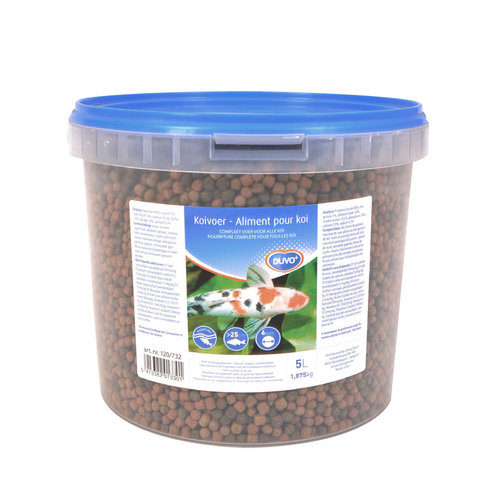 KOI STICKS BIG GRANULES 6MM/5L
