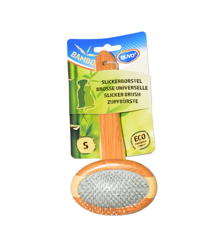 BAMBOO SLICKER BRUSH SMALL 18cmx9cm
