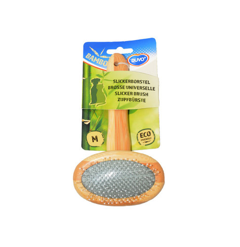 BAMBOO SLICKER BRUSH MEDIUM 18cmx10cm