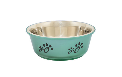 INOX BOWL FUSION L/2000ML/ø21CM olive green