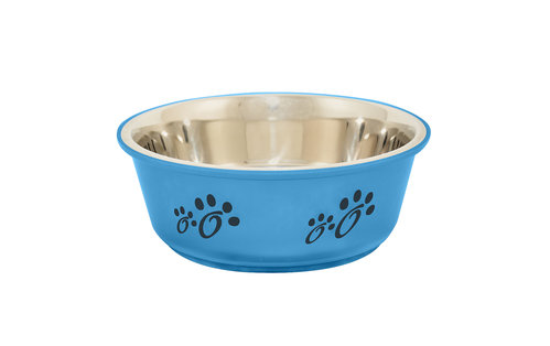 INOX BOWL FUSION L/2000ML/ø21CM light blue