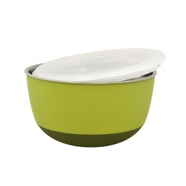 DINNER TIME DT Feeding bowl with lid'Matte Balance' Ø 19,5 - 1600ML green