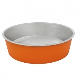 "DINNER TIME ""DT Feeding bowl """"Matte Fix"""""" Ø 21CM orange"
