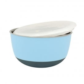 DINNER TIME DT Feeding bowl with lid'Matte Balance' Ø 13,5 - 700ML blue
