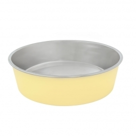"DINNER TIME ""DT Feeding bowl """"Matte Fix"""""" Ø 12CM yellow"