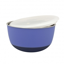 DINNER TIME DT Feeding bowl with lid'Matte Balance' Ø 19,5 - 1600ML purple