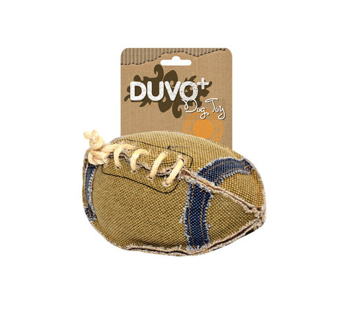 DOGTOY CANVAS FOOTBALL