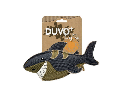 DOGTOY CANVAS SHARK
