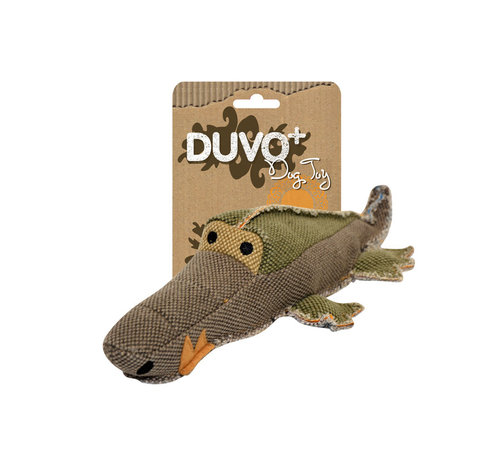 DOGTOY CANVAS CROCODILE