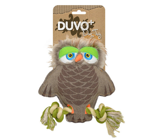 DOGTOY CANVAS OWL