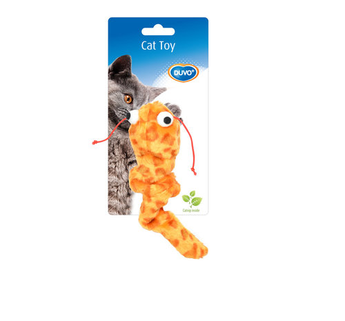CATTOY PLUCHE INTERACTIVE 17x4,5x4CM brown/blue