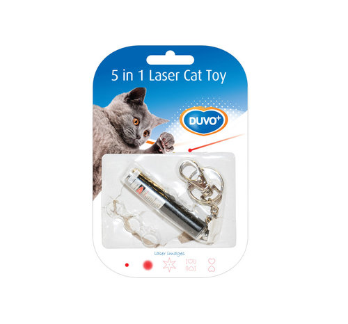 CATTOY LASER POINTER CATCH THE LIGHT 5 IN 1 13x2,5x1,5CM