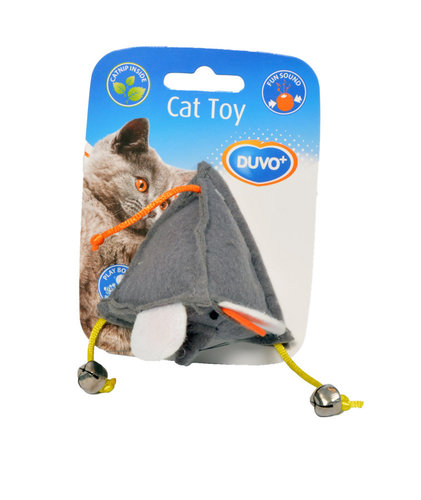 CATTOY FELT MOUSE grey