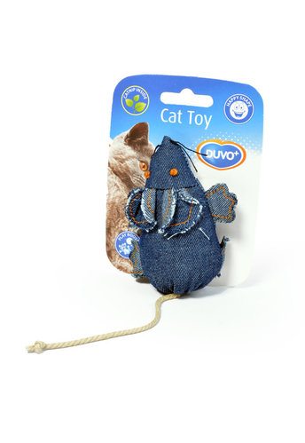 CATTOY DENIM MOUSE blue
