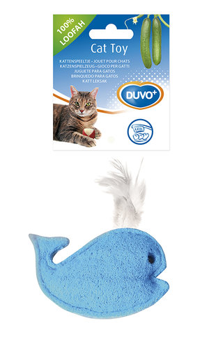 CATTOY LOOFAH WHALE 7x10,5CM natural