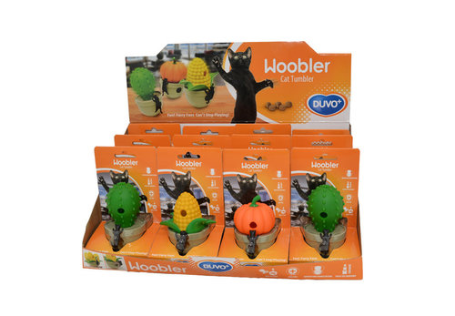 CATTOY CONCEPT DISPLAY DUVO+ WOOBLER 12PCS