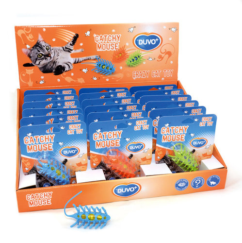 CATTOY CONCEPT DISPLAY DUVO+ CATCHY MOUSE 18PCS