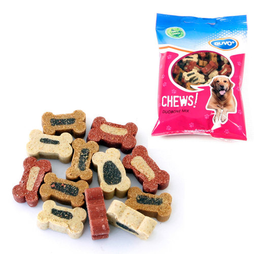 SOFT CHEW DUO BONE MIX 125GR