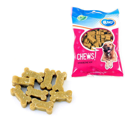 SOFT CHEW MINI BONE CHICKEN 125GR