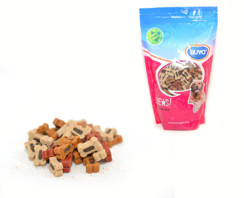 SOFT CHEW DUO BONE MIX DOYPACK 450GR