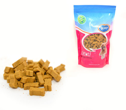 SOFT CHEW MINI BONE CHICKEN DOYPACK 450GR