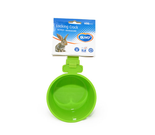 LOCKING CROCK 600ML 12 green