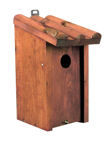 TIT NEST BOX SLOPING ROOF 13x12x26CM
