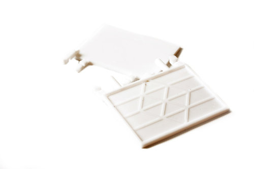 CAGE FRONT FEEDER FLAP WHITE - SET 2 PCS