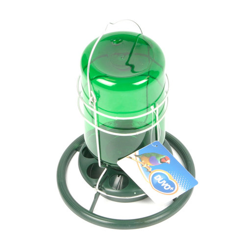 MINE LAMP PLASTIC METAL HOLDER S/Ø10CM x H18CM green