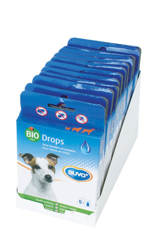 BIO DROPS DOG 5 PIPETTES