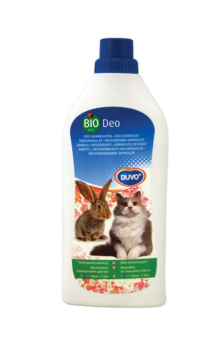 BIO DEODORIZER LITTER TRAY, RODENT CAGE 750GR