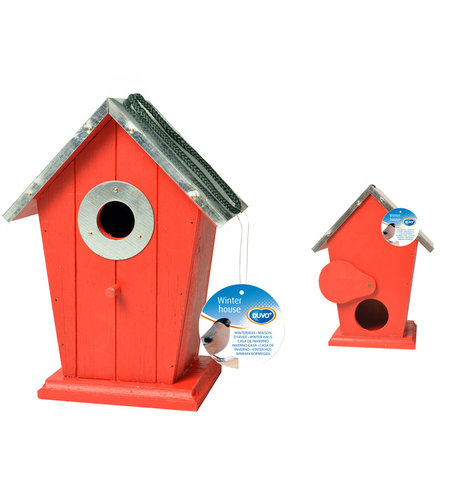 NEST BOX 1 INPUT 4 COLOURS ASSORTED 17,5x11x23,5CM mixed colors