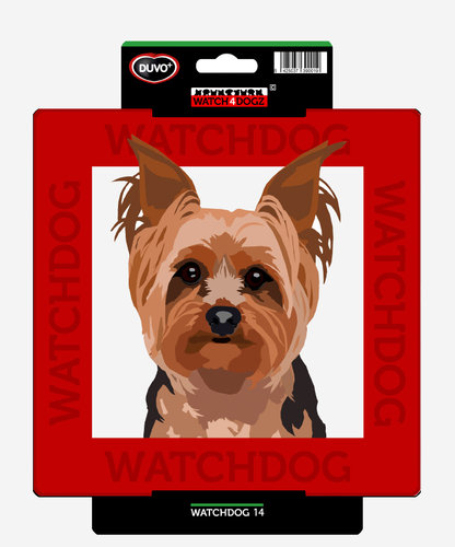 W4D SIGN YORKSHIRE TERRIER 22x22CM