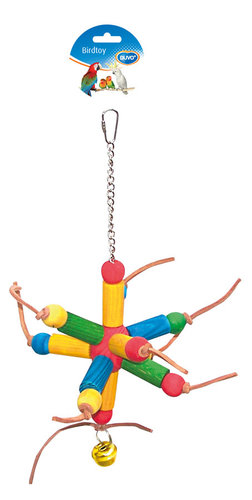 BIRDTOY Colorful cubes & leather 35CM