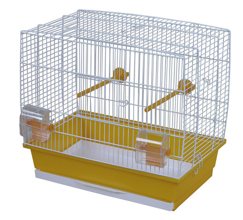 CAGE NATALIA 2 46x28x42CM yellow/white