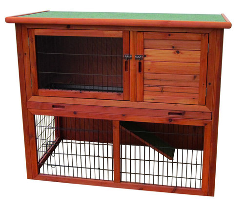 WOODLAND RABBIT HUTCH REDMOND CLASSIC 104x52x97CM