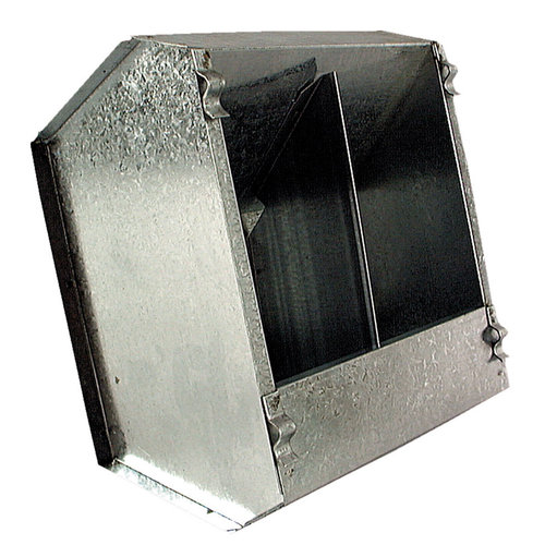 METAL RODENT DUAL FOOD HOPPER