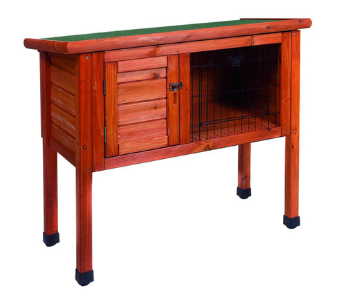 WOODLAND RABBIT HUTCH CLASSIC 80x40x73cm brown