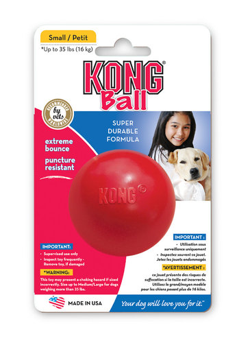 KONG BALL M/L red