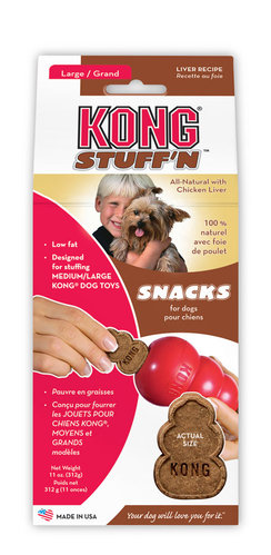 KONG STUFF 'N SNACKS LIVER L