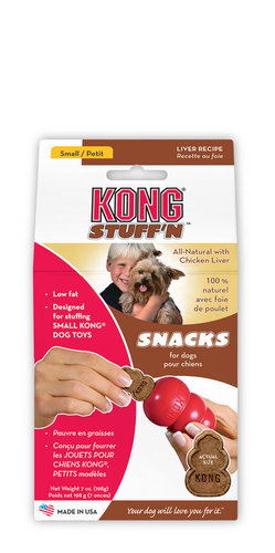 KONG STUFF 'N MINI SNACKS LIVER