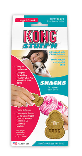 KONG STUFF 'N SNACKS PUPPY (CHICKEN&RICE) L