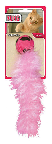 KONG CAT WILD TAILS pink