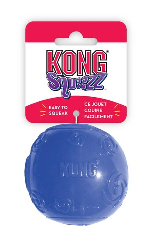 KONG SQUEEZZ BALL L red/green/purple