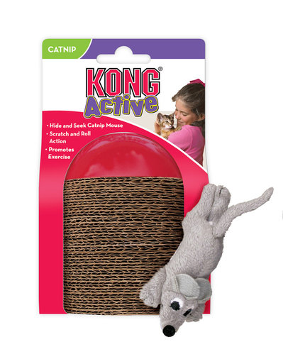 KONG CAT SCAMPER red
