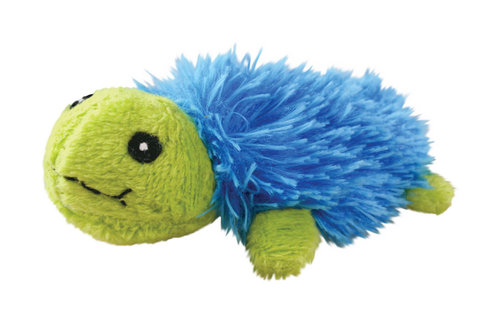 KONG CAT REFILLABLE CATNIP BRIGHT TURTLE