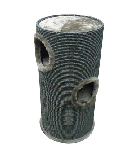 SCRATCHING POST TOWER TON LGREY/DGREY 36x35x70CM anthracite
